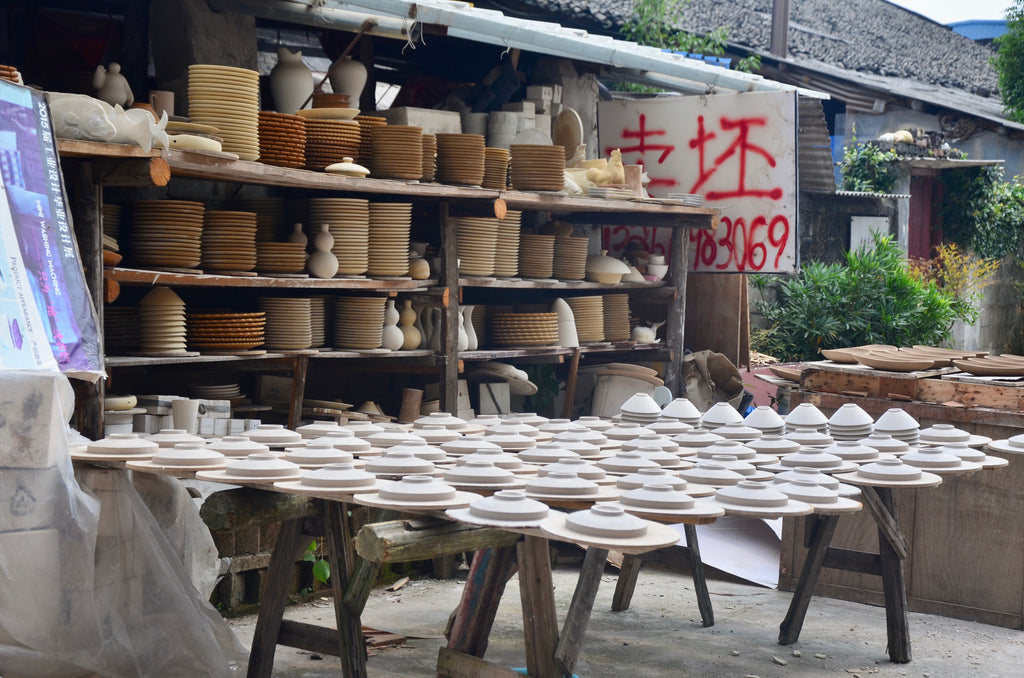 Jingdezhen, China pottery porcelain ceramic - Eat & Sip field trip