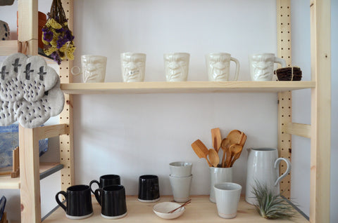 Handmade tableware studio Singapore - Eat & Sip