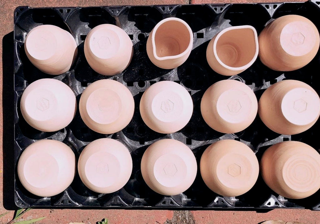 Wheel thrown ceramics by Australian Matilda Chambers | Eat & Sip handmade pottery Singapore