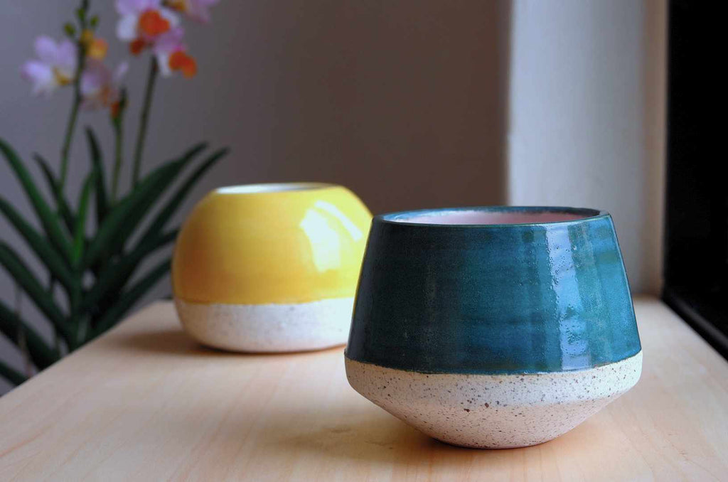 Wheel thrown ceramics in Singapore | handmade pottery
