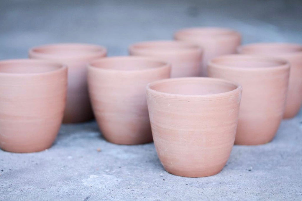 Wheel thrown ceramic takeaway cup | Eat & Sip handmade pottery Singapore