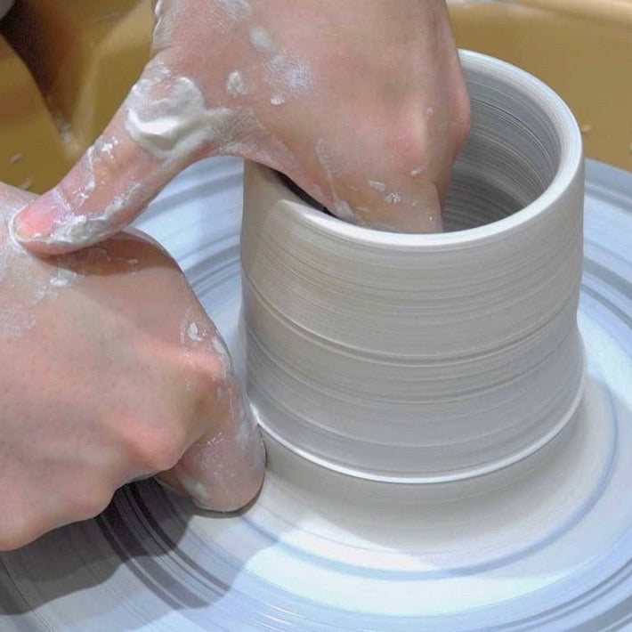Wheel thrown pottery in Singapore | Hand made tableware