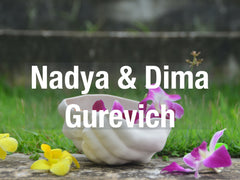 Nadya and Dima's range of handmade tableware