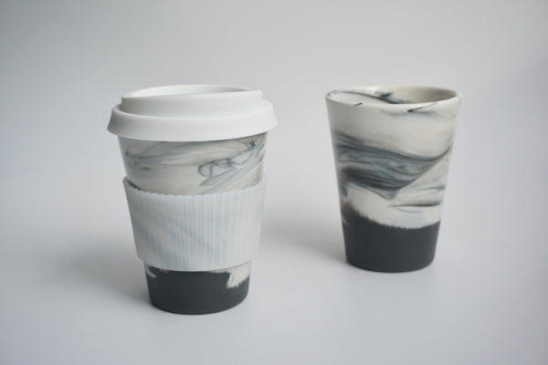 Handmade takeaway coffee cups in Singapore | Handcrafted ceramics