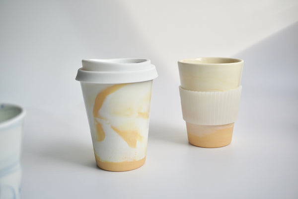 Handmade coffee cups in Singapore | Australian ceramics by Louise Martiensen