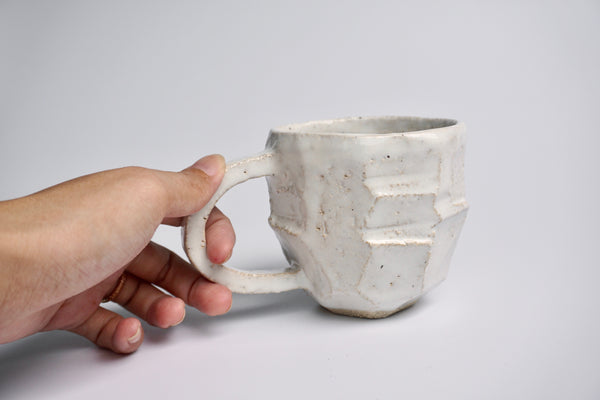 Carved handmade mug Singapore - Carragh Amos | Eat & Sip