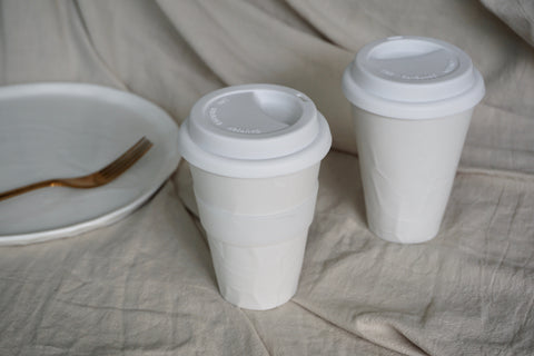 Handcrafted pottery | Eat & Sip ceramic takeaway cups