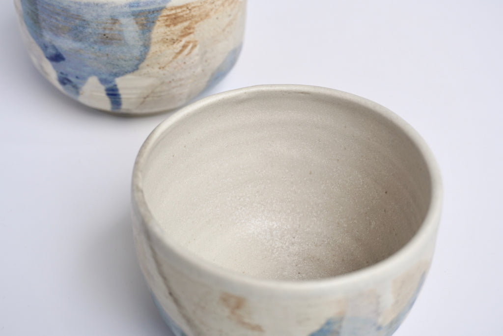 Handmade ceramic bowl East Field | Pottery handcrafted Singapore