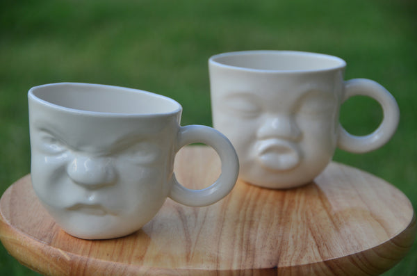 The Tableware curators - Ceramic handmade sculpture mugs stocked in Singapore