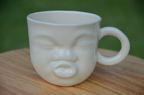 Ceramic handmade sculpture mugs stocked in Singapore