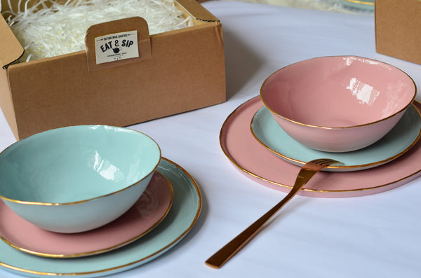 Housewarming dinnerware gift set | Shop handcrafted tableware