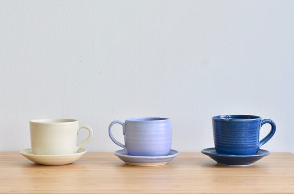 Handmade ceramics tableware Singapore - wheel thrown cups