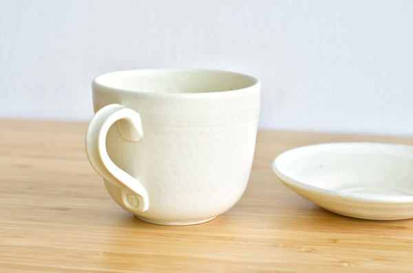 Handmade ceramics wheel thrown cups - Singapore pottery