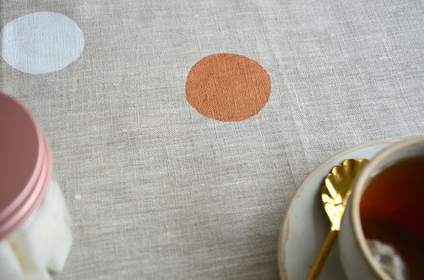 Handprinted Table Runner