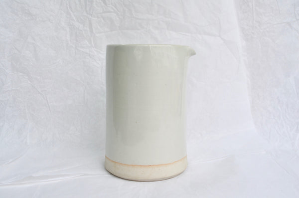 Handmade ceramic pitcher by WRF Lab | Eat & Sip Singapore