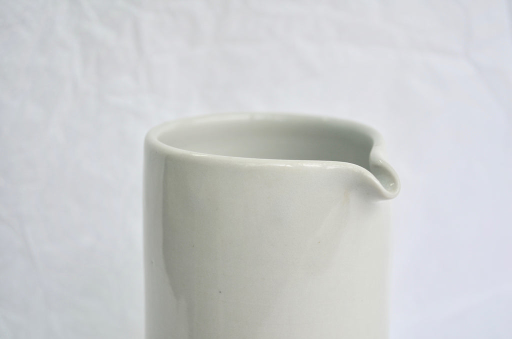 Handmade wheel thrown ceramic pitcher | Eat & Sip Singapore