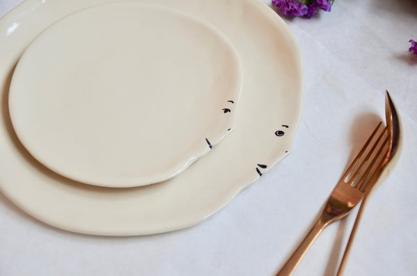 Handmade ceramics Singapore tableware | Eat & Sip family nesting plates