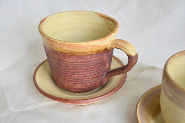 Eat & Sip handmade tableware - wheel thrown coffee cup