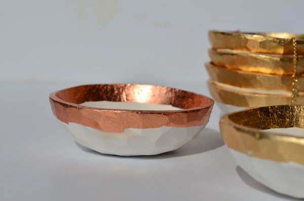 Handmade ceramic ring dishes Singapore | Eat & Sip