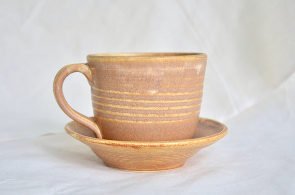 handmade wheel thrown cup for coffee lover - Eat & Sip Singapore