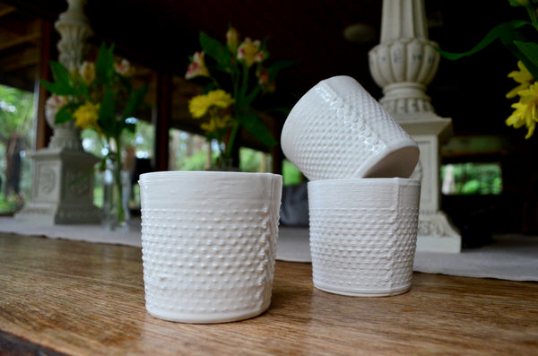 Unique tableware Alterfact - 3D printed porcelain cups Singapore