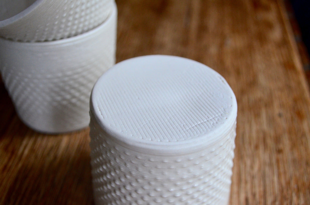 Unique tableware by Alterfact - 3D printed ceramic cups Singapore