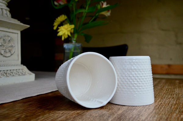 Unique tableware - 3D printed ceramic whisky cups Singapore