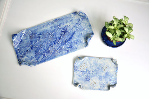 The Tableware Curators - Wave ceramic plates Singapore