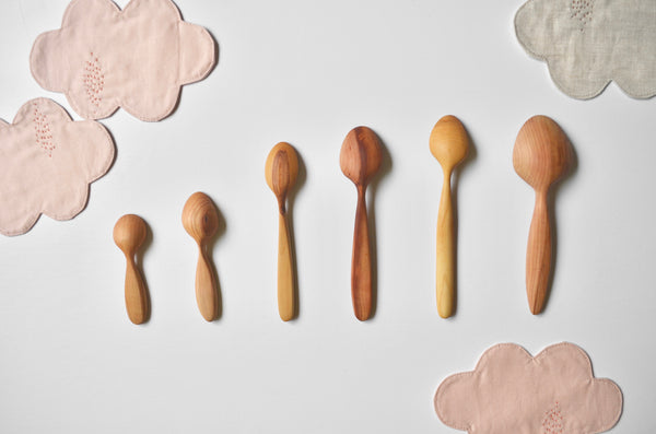 Hand carved wooden spoons Singapore - Eat & Sip tableware