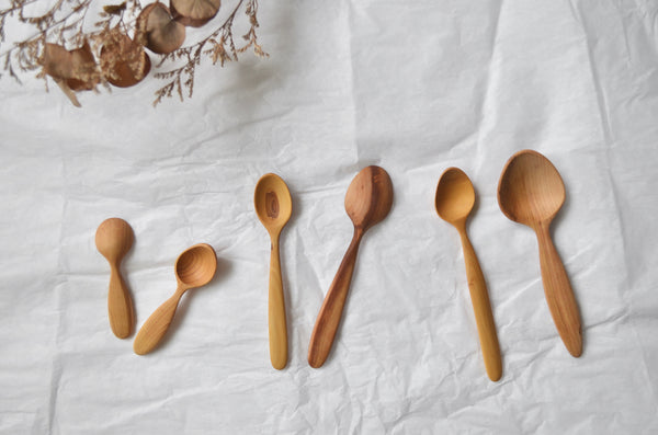 Hand carved wooden kitchen utensils gift Singapore - Eat & Sip tableware