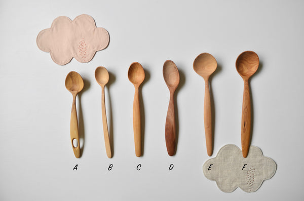 Hand carved wooden everyday spoons Singapore - Eat & Sip