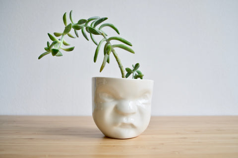 Planter unique handcrafted tableware Eat & Sip