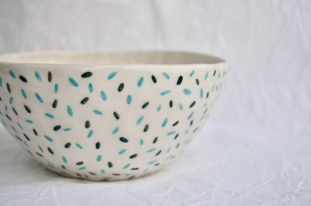 Hand pinched ceramics bowl tableware Singapore