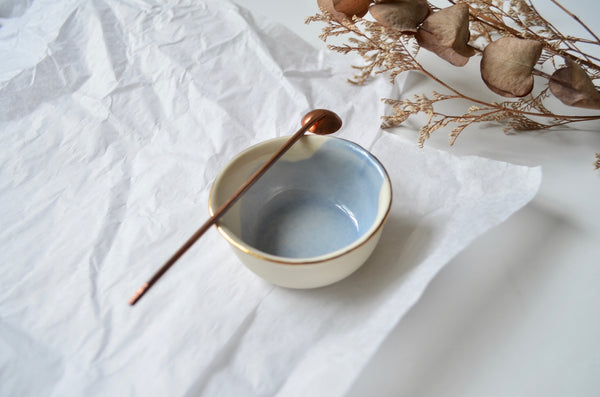 Handmade porcelain salt dish | The tableware curators Singapore