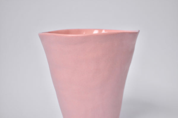 Pink handmade beaker | Unique housewarming gifts