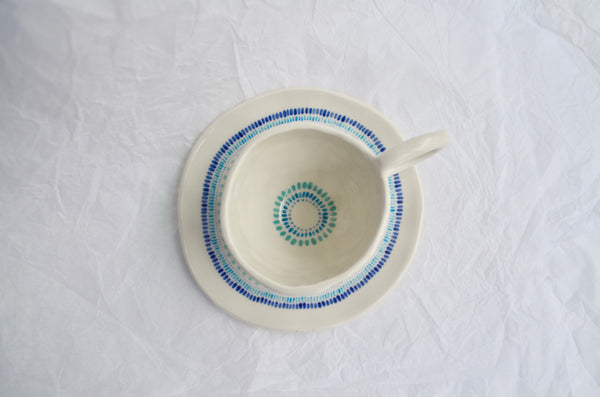 Handpinched tea cup tableware gifts, Singapore handmade ceramics