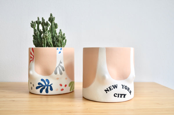 Group Partner NYC Top pot | Handmade planter Singapore
