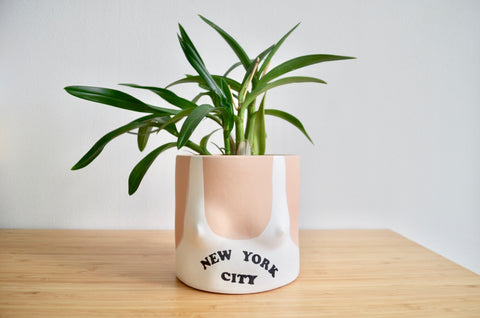 Group Partner New York Top pot | Handmade planter Singapore