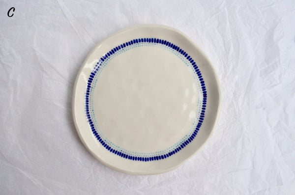 Handmade porcelain tableware Eat & Sip