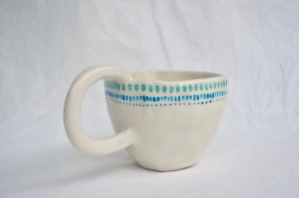 Handpinched and handpainted tea cup tableware gifts Singapore