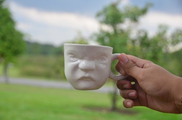 The Tableware curators - Ceramic handmade sculpture mugs stocked Singapore