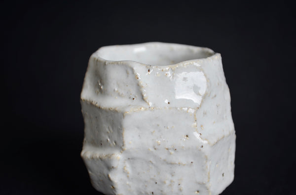 Hand carved kurinuki sake cup | Singapore ceramics