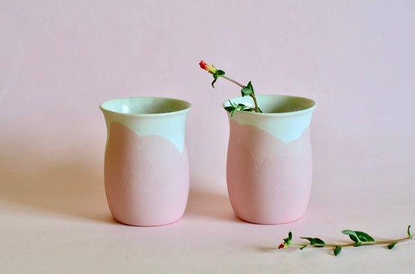 Handmade tableware Singapore | Ceramic porcelain cups