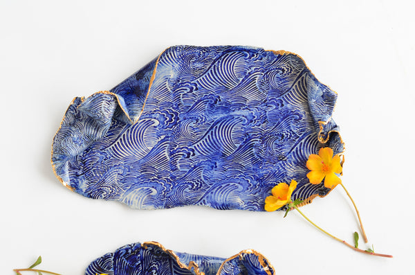 Ceramic handmade plates by Amelia Kingston in Singapore