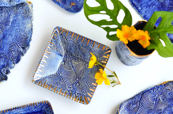 Handmade wave plates Singapore | Shop online at Eat & Sip