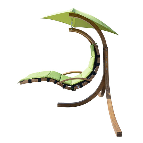 Outdoor Green Porch Swing with Stand - Clever and Modern Home and office furniture. Pet Furniture