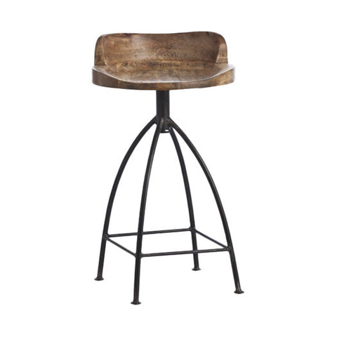 "Modern Ranch 24"" Counter Stool - Clever and Modern Home and office furniture. Pet Furniture"