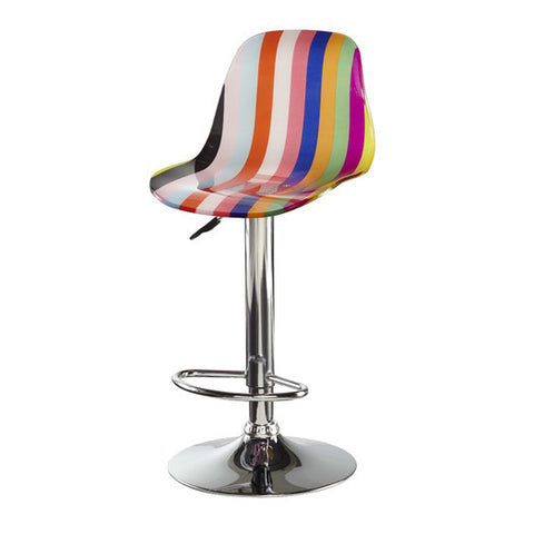 Adjustable Height Acrylic Bar Stool