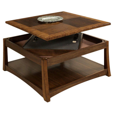 Andover Coffee Table with Dual Lift-Top and storage - Clever and Modern Home and office furniture. Pet Furniture
