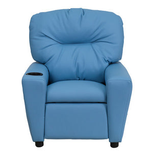 C & M  Recliner chair for Kids on Blue - Clever and Modern Home and office furniture. Pet Furniture